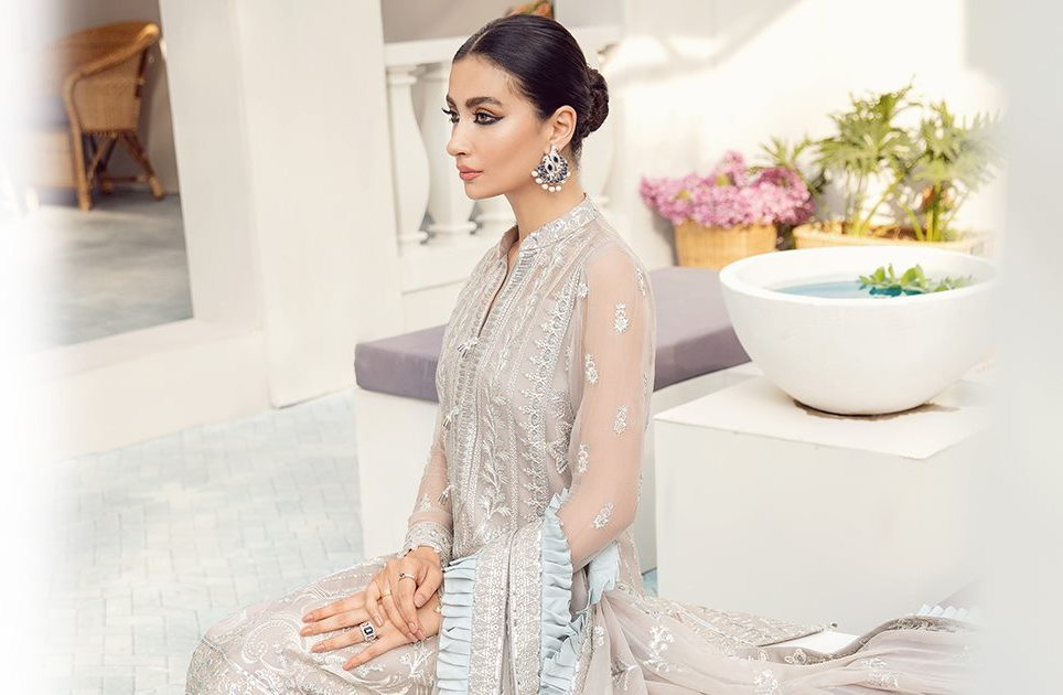 Gulaal Premium Embroidered Chiffon Collection