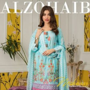 Al Zohaib Mahnoor Embroidered Collection