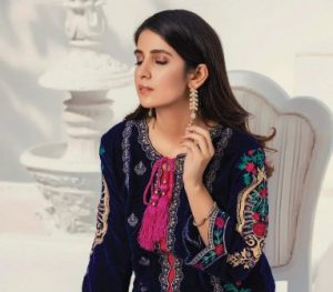AlZohaib Embroidered Velvet Collection