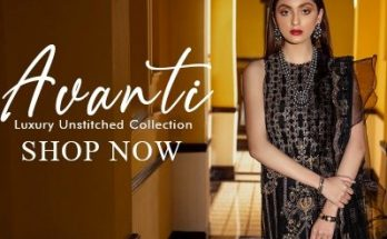 Avanti Luxury Unstitched Collection Epoque Women Girls