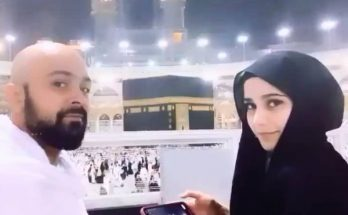 Beautiful Umrah Photos Singer Aima Baig with Family 6