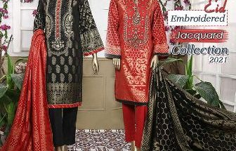 Bin Saeed Festive Eid Embroidered Jacquard Collection