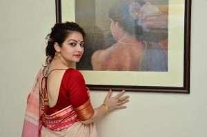 Byloom Laal Paar Saree Winter Collection