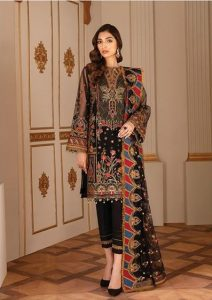 Chantelle Embroidered Chiffon Collection Baroque Price Detail Buy Online