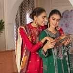 Cross Stitch Manzil Khaddar Linen Unstitched Winter Collection