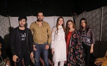 Drama Serial Mera Dil Mera Dushman Beautiful Cast Spotted at ARY Festival 8
