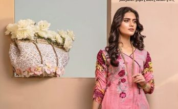 Falak Fabric Soigne Spring Summer Lawn Collection 4