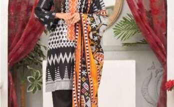 Falak Fabrics Cambric Collection