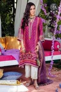 Fara Talib Aziz Winter Dress