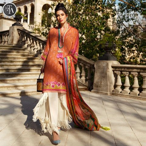 Farah Talib Aziz Spring Summer Embroidered Lawn Collection