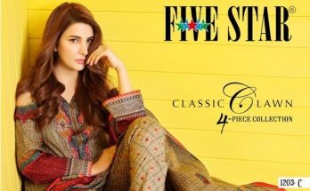 Five Star Classic Lawn Collection Women