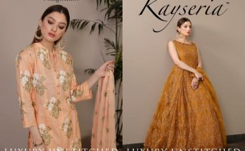 Kayseria Luxury Unstitched Collection