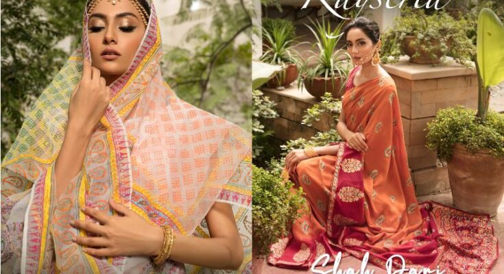 Kayseria Shah Pari Sari Collection 1