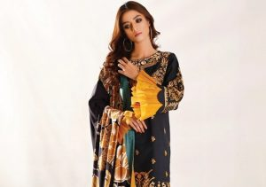 Latest Nimsay Izaar Winter Embroidered Khaddar Collection with Price Buy Online