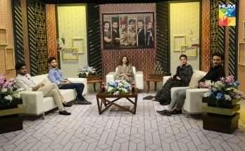 New Photos Cast Drama Ehd e Wafa at Humtv Special Show