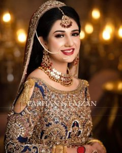 Latest Sarah Khan Bridal Photo Shoot Taken Farhan N Faizan 5