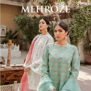 Latest Mehroze Embroidered Lawn Collection Republic Womenswear with Price Buy Online