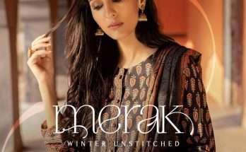 Merak Unstitched Winter Collection Volume 1 by Zeen