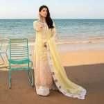 Noor luxury Lawn Collection Saadia Asad