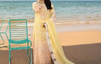 Noor luxury Lawn Collection Saadia Asad