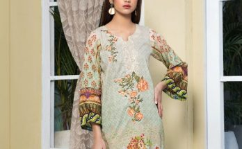 Nooray Embroidered Lawn With Chiffon Dupatta Vol 1 Rashid Textile