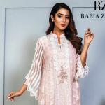 Rabia Zahur Luxury Pret Aabroo Noor e Nazaar Velvet Winter Festive Collection