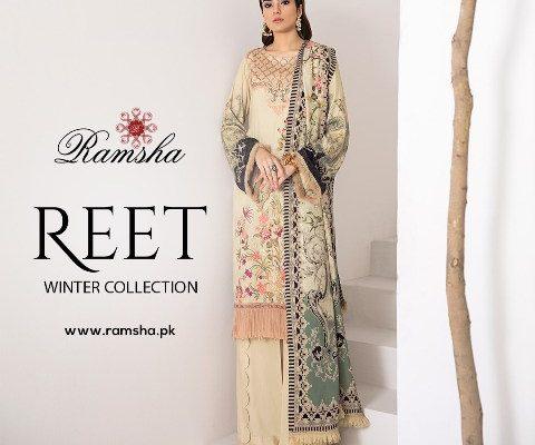 Ramsha Reet Winter Collection