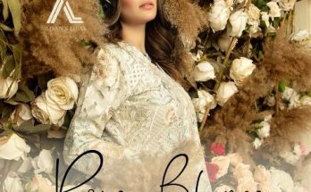 Roza Blanca Luxury Embroidered Collection Adans Libas