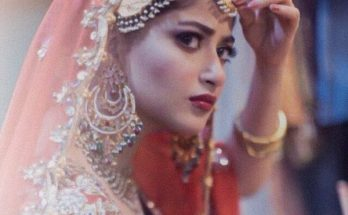 New Sajal Ali Bridal Photo Shoot Gallery