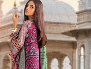 Buy Online Sana Safinaz Kurnool Embroidered Dresses Collection Price Detail