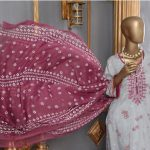 Saqafat Dastoor Viscous Embroidered Collection