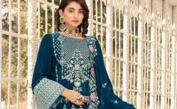 Shaista Embroidered Velvet Collection