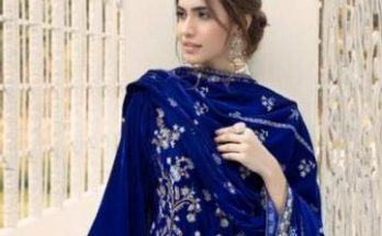Shaista Embroidered Velvet Collection