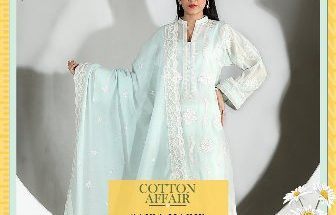 The Ensemble Cotton Affair Spring Summer Collection Saira Habib 1