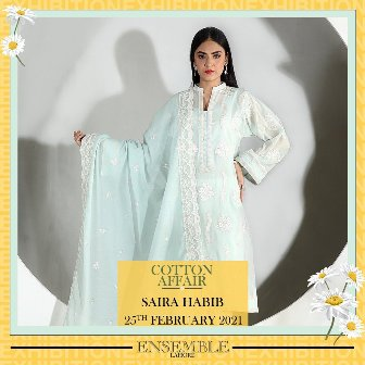 The Ensemble Cotton Affair Spring Summer Collection Saira Habib 1