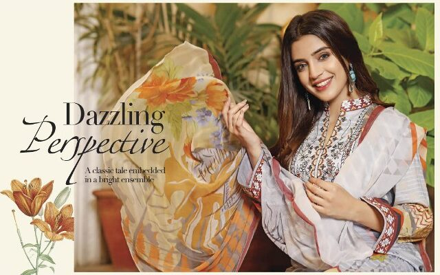Wijdan Salam Textile Ruhi Digital Lawn Print Embroidered Collection