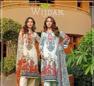 Wijdan Amara Viscose Embroidered Chiffon Collection