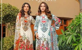 Wijdan Amara Viscose Embroidered Chiffon Collection
