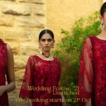 Zainab Chottani Wedding Festive Collection