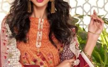 Zara Ali Shahana Spring Summer Lawn Collection Magns Textile