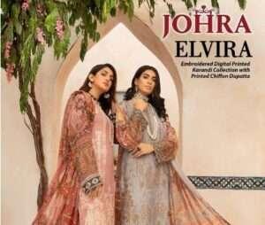 johra digital printed embroidered karandi