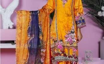 VS Textile Mills Mariyah ChickenKari Digital Cambric Collection